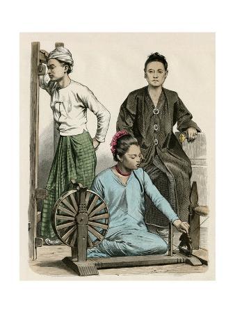 Spinning in Burma