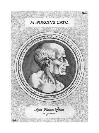 Marcus Porcius Cato, Roman Statesman