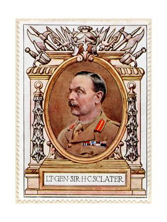General Sir Henry C. Sclater, Stamp