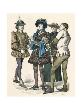 Men of Bourgogne C.1450