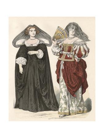 Women's Costume Mid C17
