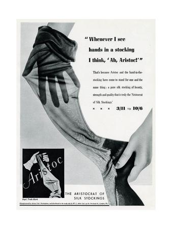 Advert for Aristoc Stockings 1936