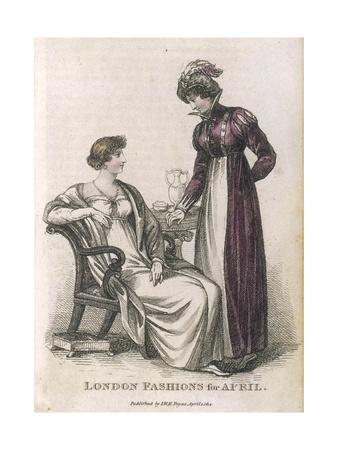 Morn. and Even. Dress 1814