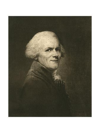 Portrait of Maximilien Franþois Marie Isidore de Robespierre