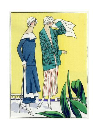 Two Outfits by Philippe Et Gaston and Jean Patou