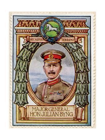Major General Julian Byng, Stamp