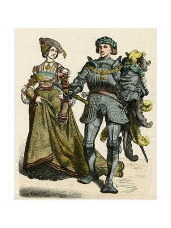 German Knight and Lady