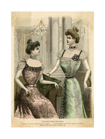 Ball Dresses 1899
