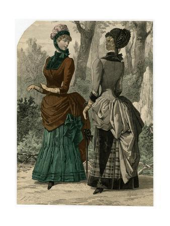 Polonaise Dresses 1882