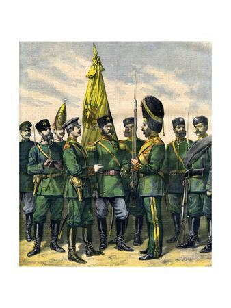 Russian Infantry 1892