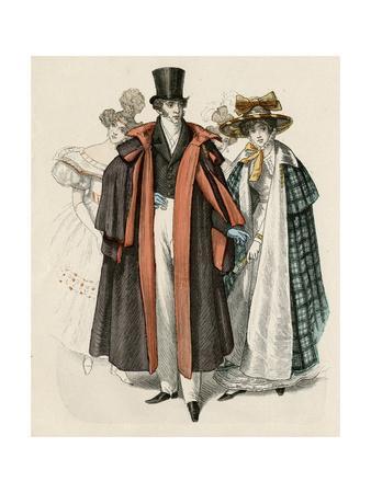 Costume, Men Late 1820S