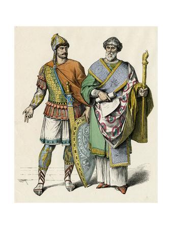 Byzantine Costume, C5, Men
