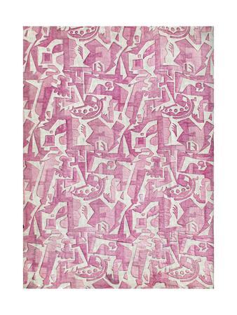 Fabric Design, Art Gout Beaute, 1924