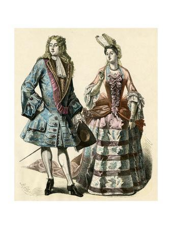 Courtiers 1690S