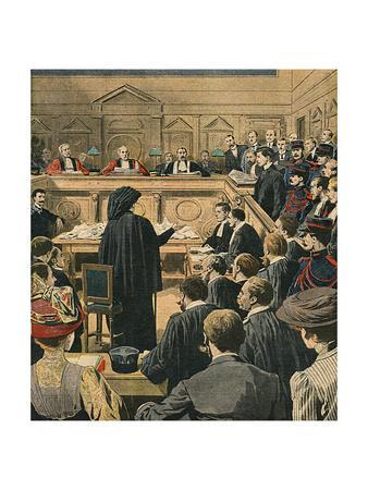 French Murder Trial