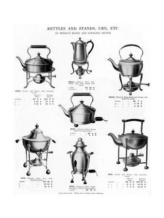 Kettles and Stands