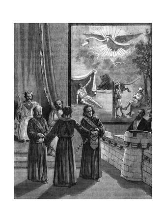 Initiation of the Knight of the East or the Sword