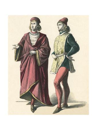 Florentine Costume C15th