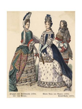 Aristocratic Dress 1694