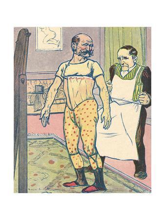 Male Corset, 1910