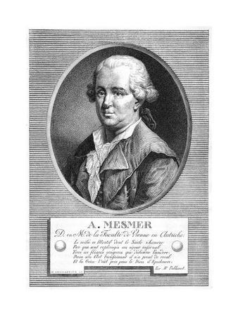 Portrait of Mesmer