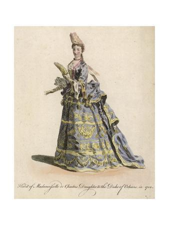 Costume, Chartres 1700