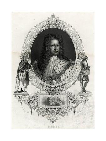 George I, Anon Eng
