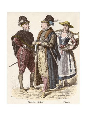 Costume, Italian Students