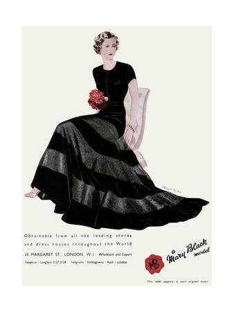 Advert for Mary Black Model 1936