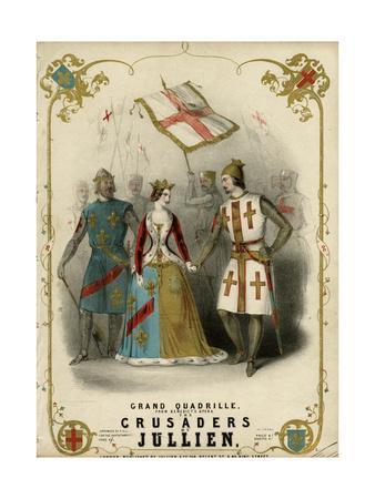 Crusader and Girl