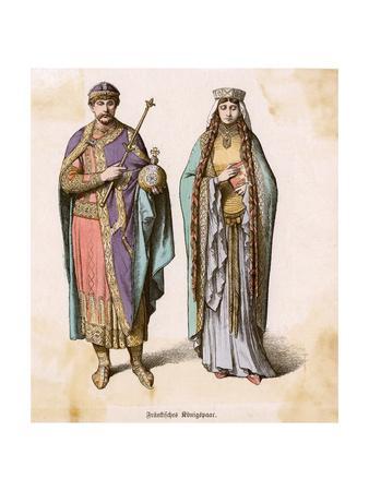 Frankish Court Dress C11