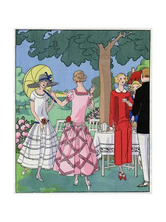 Three Summer Outfits by Jean Patou and Doucet