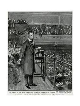 Chamberlain, Glasgow 1903
