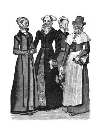 Women's Costume C. 1600