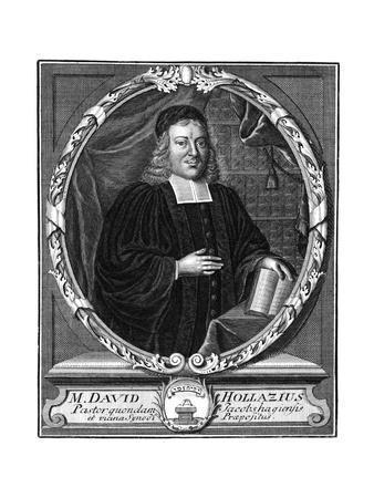David Hollaz, Churchman