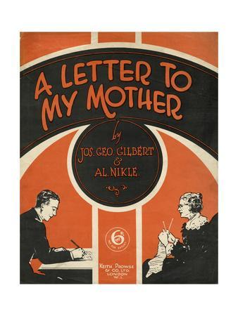 Letter to Mother