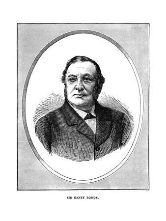 Sir Henry Roscoe