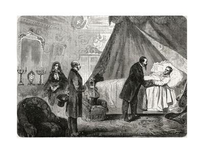 Cavour on Deathbed