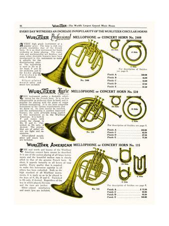 Horn, Wurlitzer