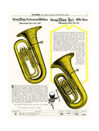 Bb-Flat Bass, Wurlitzer
