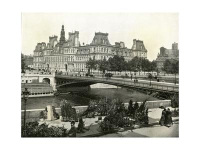 Paris, France - Hotel de Ville