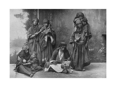 Bedouin Arabs Making Music