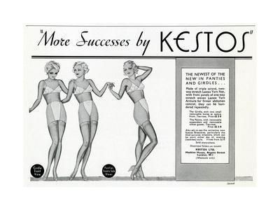 Advert for Kestos Lingerie 1936