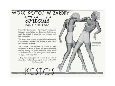Advert for Kestos Lingerie 1935