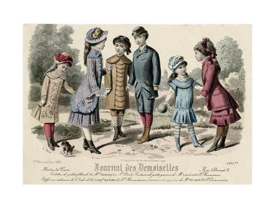 Costume, Children, 1880