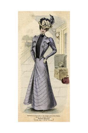 Promenade Dress 1899