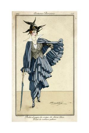 Dress and Cape 1914