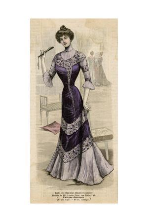 Purple Dress 1899