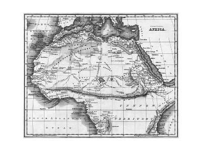 Map Africa North