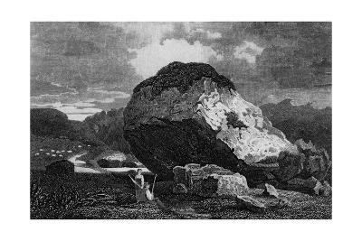 Bowder Stone, Borrowdale, Lake District